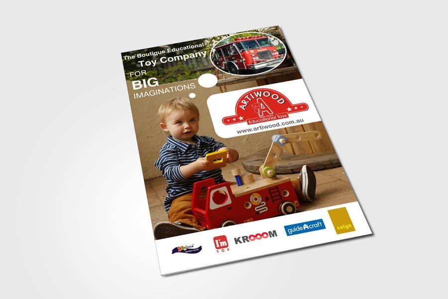 Inscrição nº                                         11                                      do Concurso para                                         Advertisement Design for Artiwood Educational Toys (A4)