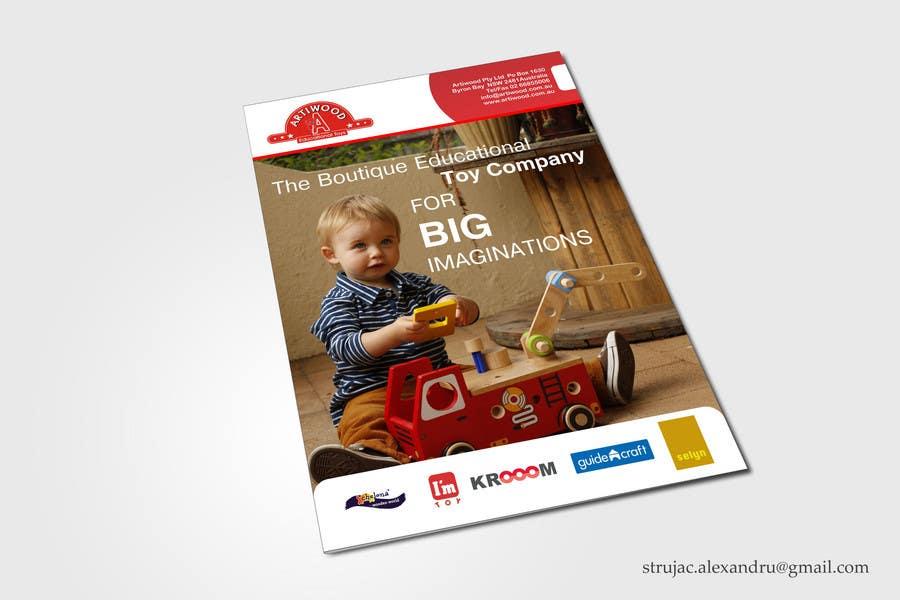 Inscrição nº                                         7                                      do Concurso para                                         Advertisement Design for Artiwood Educational Toys (A4)