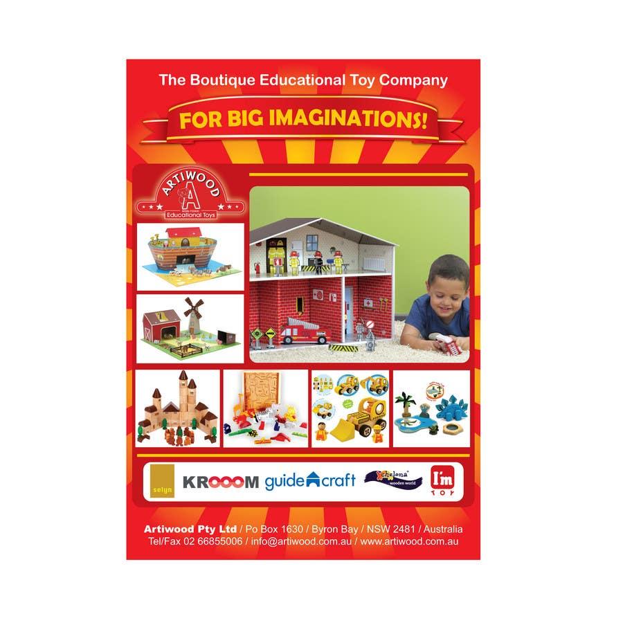 Inscrição nº                                         2                                      do Concurso para                                         Advertisement Design for Artiwood Educational Toys (A4)