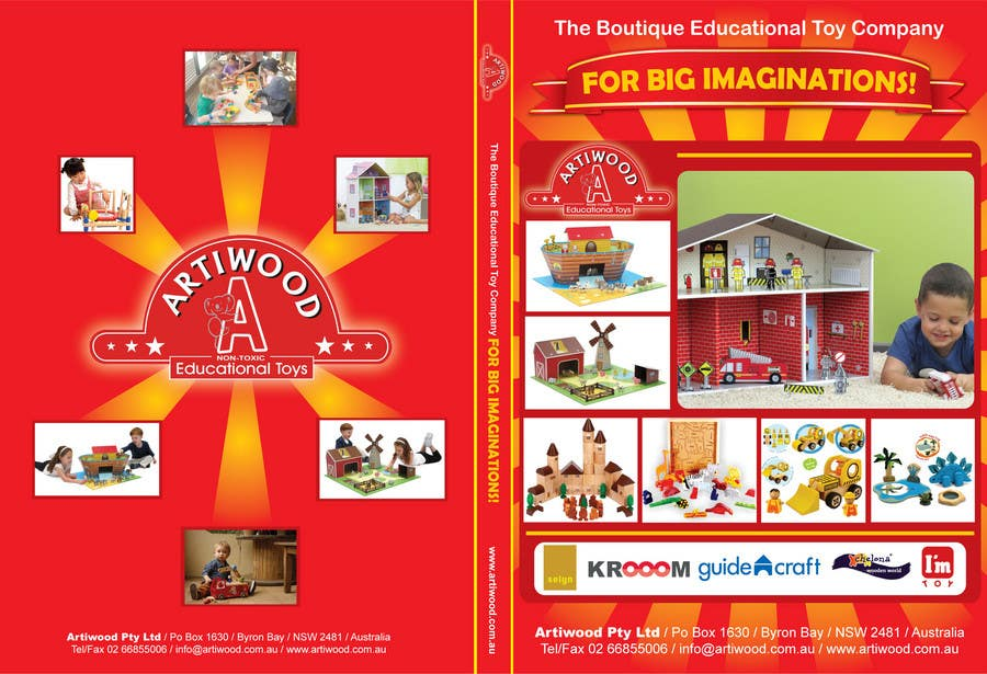 Contest Entry #                                        58                                      for                                         Advertisement Design for Artiwood Educational Toys (A4)