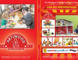 #57 para Advertisement Design for Artiwood Educational Toys (A4) por blacklist08