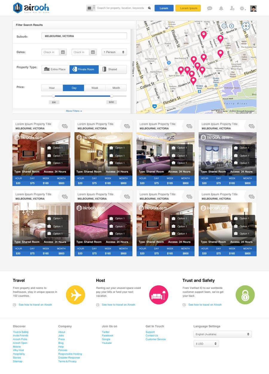 Bài tham dự cuộc thi #20 cho Design a Website Mockup for realestate website