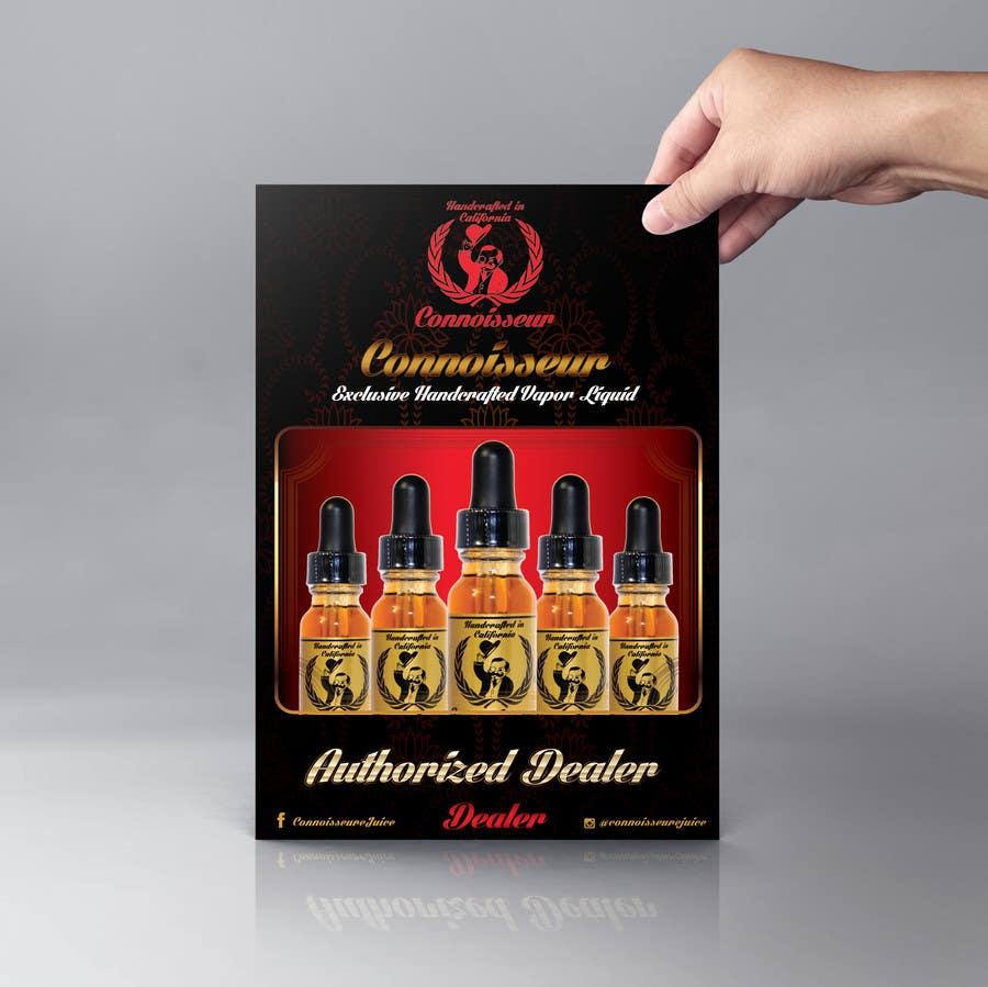 Inscrição nº 25 do Concurso para Poster Design for Connoisseur eJuice
