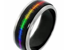 waqastariq01 tarafından Create a Rainbow EKG/wave Spinner Ring için no 33