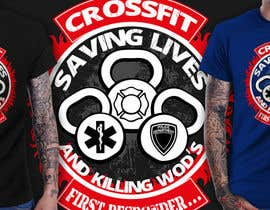 #8 for Design a T-Shirt for CrossFit First Responder (EMT, Fire, Police) af richisd