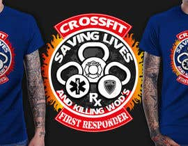#9 cho Design a T-Shirt for CrossFit First Responder (EMT, Fire, Police) bởi richisd