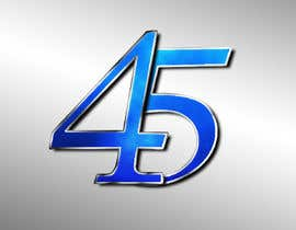 #21 for Logo design for the 45th anniversary banquet af navaneethmuthu