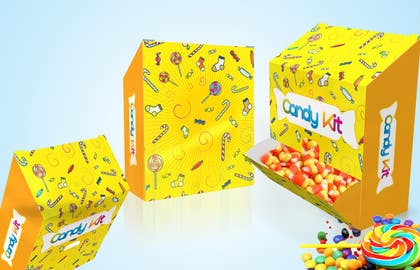 #9 cho Create Print and Packaging Designs for A New sweet Box called Candy Kit bởi chubbycreations