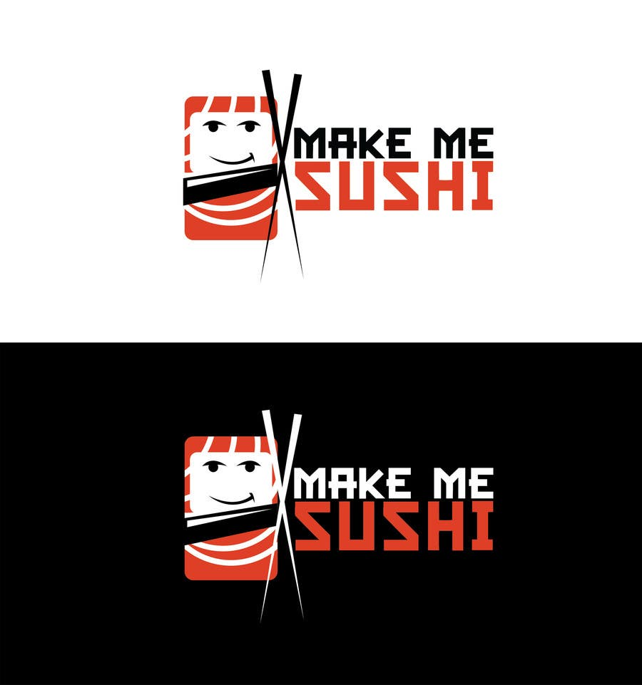 "Contest Entry #39 for Design a Logo for 'MAKE ME SUSHI"" - repost"
