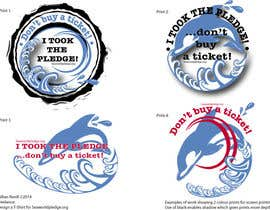 #25 para Design a T-Shirt for Seaworldpledge.org por GillianR3
