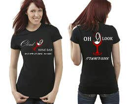 #9 for Design a T-Shirt for a Wine Bar by suffiyan8