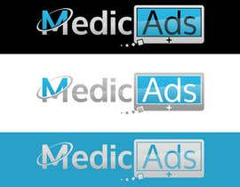 #408 para Logo Design for MedicAds - medical advertising por Arpit1113