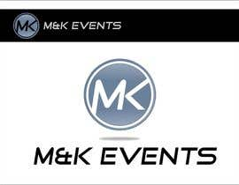 "#65 cho Logo for ""M&K Events"" bởi TheAVashe"