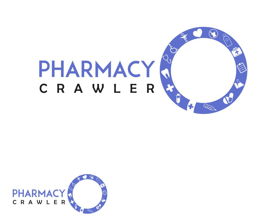 Kilpailutyö #142 kilpailussa Design a logo for a pharmaceutical product search engine