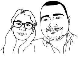 #8 for Cartoonize Two Faces (B/W, Vector Graphic, Low Detail) by draycreates
