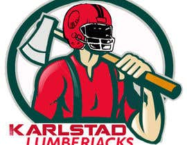 #6 for Design a Logo for Karlstad Lumberjacks - American Football Team (NOT Soccer) by PikaXeD