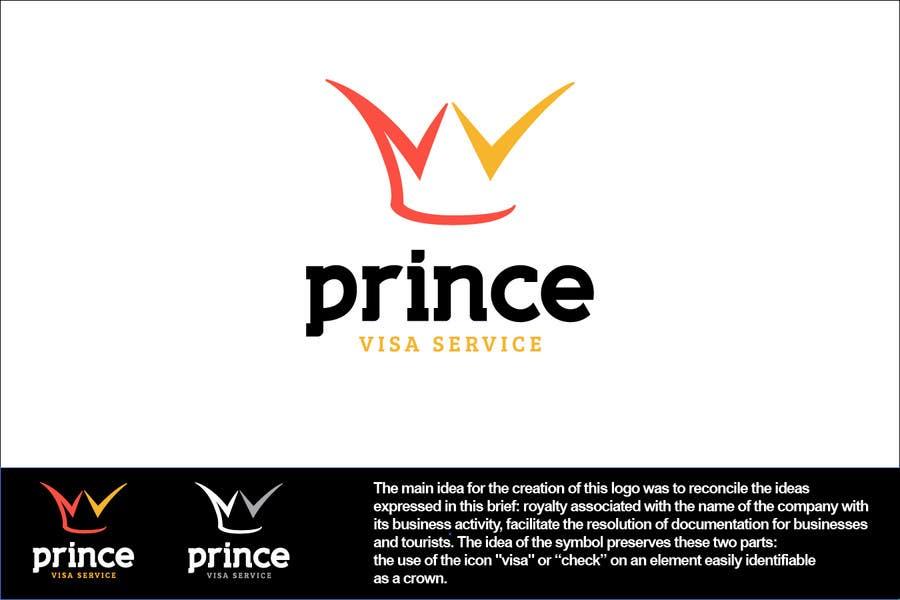 Bài tham dự cuộc thi #272 cho Logo Design for Prince Visa Service