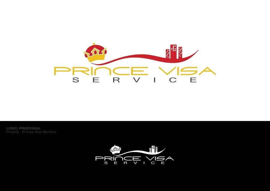 #71 for Logo Design for Prince Visa Service by Dewbelle