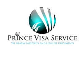 #246 for Logo Design for Prince Visa Service by stephen66