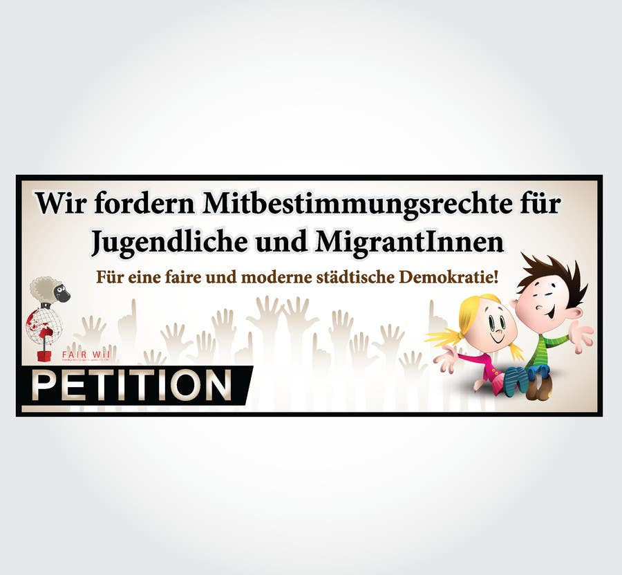 #111 for Design for a banner of a petition by felipe0321