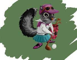 kam577c5a50399cf tarafından Teenage Golfing Female Squirrel için no 3
