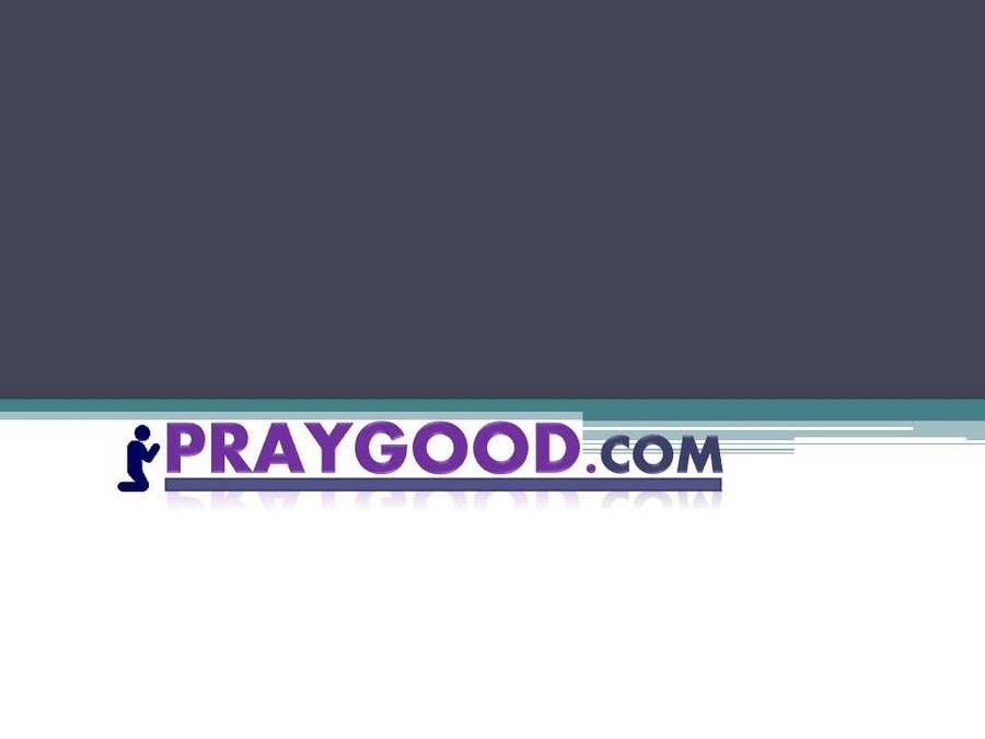 Contest Entry #                                        114                                      for                                         Logo Design for praygood.com