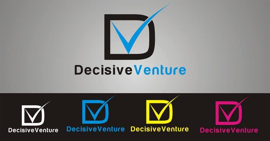 Bài tham dự cuộc thi #                                        290                                      cho                                         Logo Design for Decisive Venture