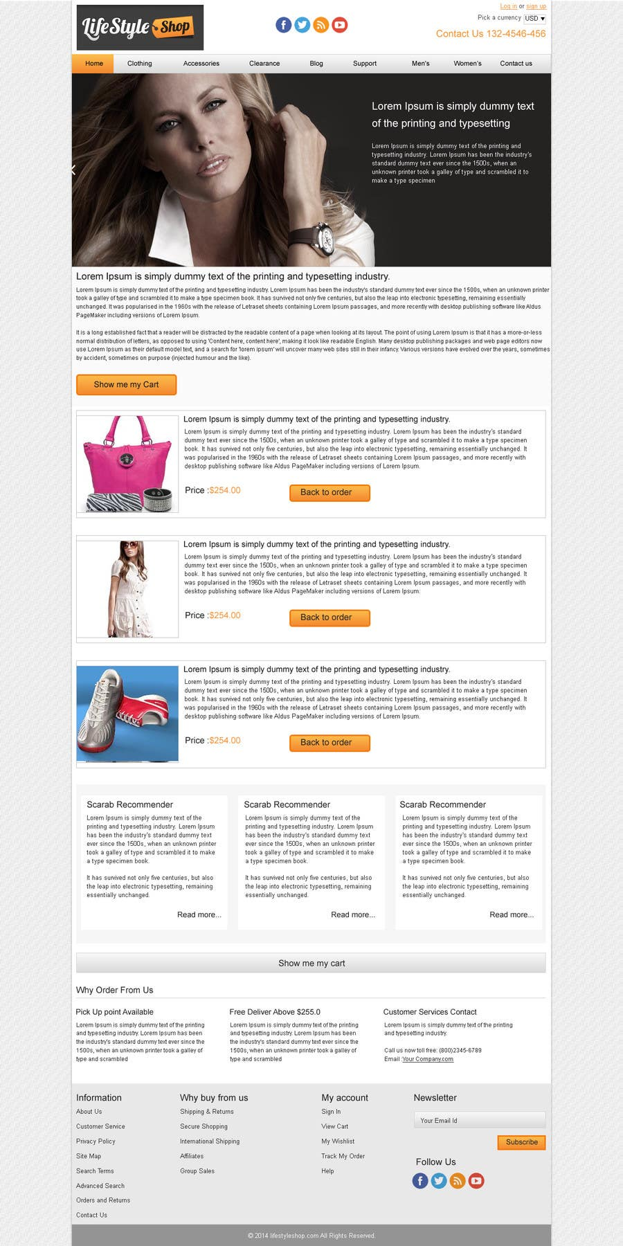 #3 for Marketing Email templates (PSD and HTML) by webidea12