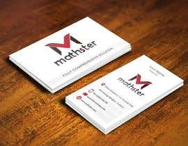 #9 para Design some Business Cards for Mathster.com por pointlesspixels