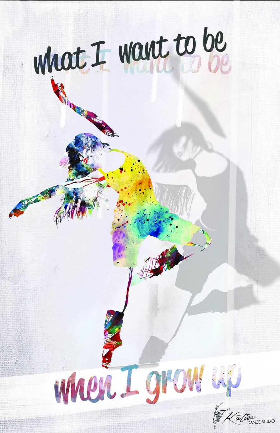 Konkurrenceindlæg #25 for Dance Studio Poster