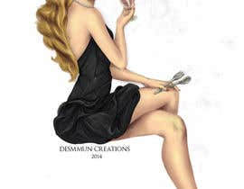 #29 untuk Illustrate Retro Portrait of a Sexy Princess [URGENT!!] oleh desmmuncreations