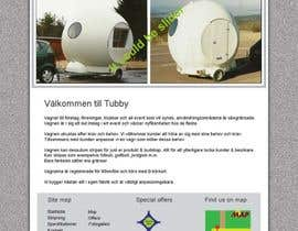 Nro 16 kilpailuun Design a webbsite tubby käyttäjältä mishok123