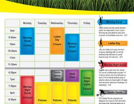 #6 for Editable Adult Class Timetable by venkatjvk