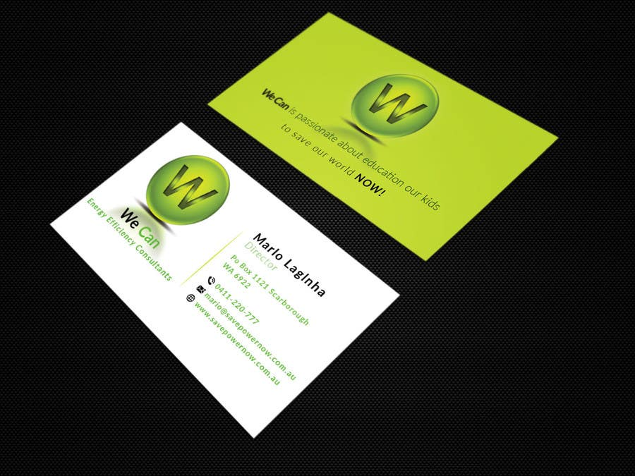 Entry #2 by mdahmed2549 for Design a Business Card and modify logo ...