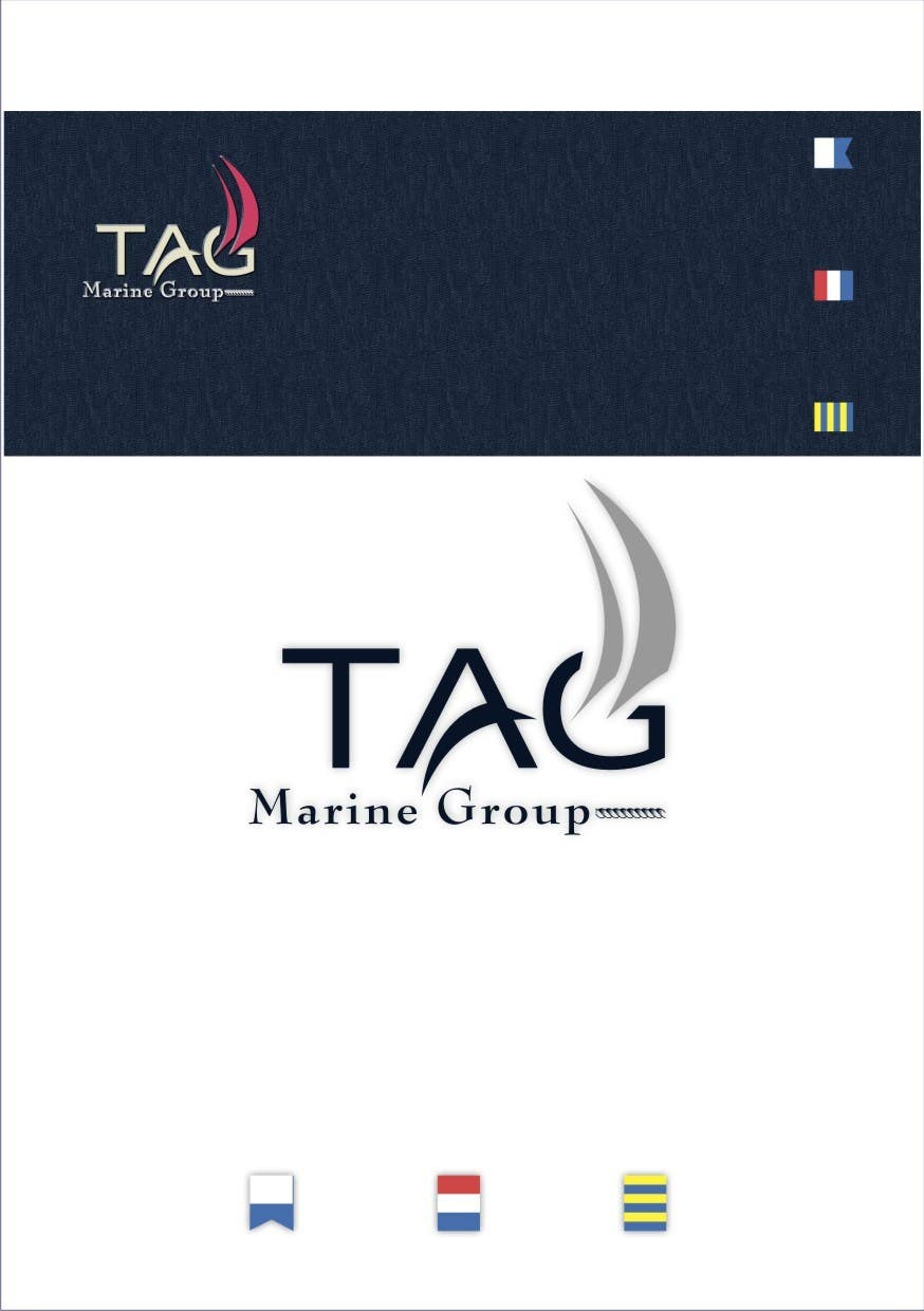 Konkurrenceindlæg #66 for Logo Design for TAG Marine group