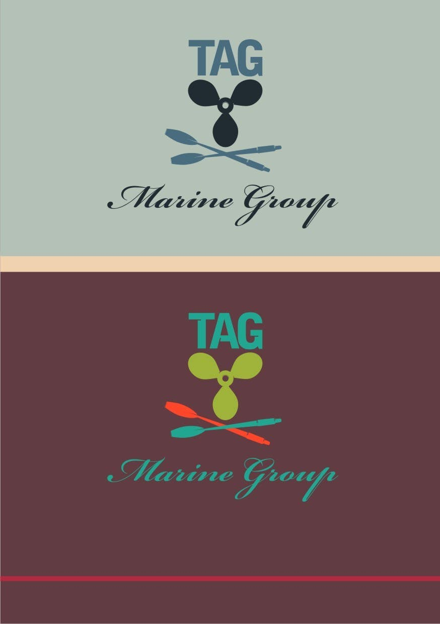 #59 for Logo Design for TAG Marine group by paramiginjr63