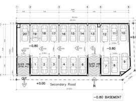 pramoteyula tarafından Basment Parking Floor Plan Design için no 27