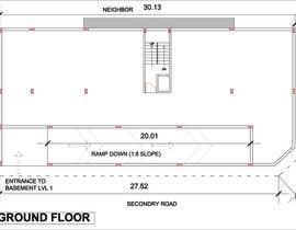 Megha3007 tarafından Basment Parking Floor Plan Design için no 19