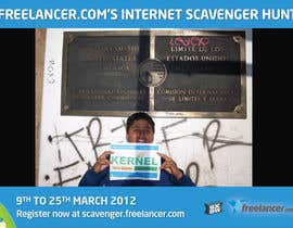 #62 untuk Freelancer.com Scavenger Hunt People's Choice Image Award oleh ScavHunt