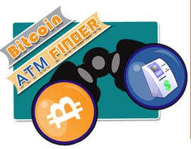 sankethshetty916 tarafından Design a Logo and App Icon for Bitcoin ATM Finder için no 31