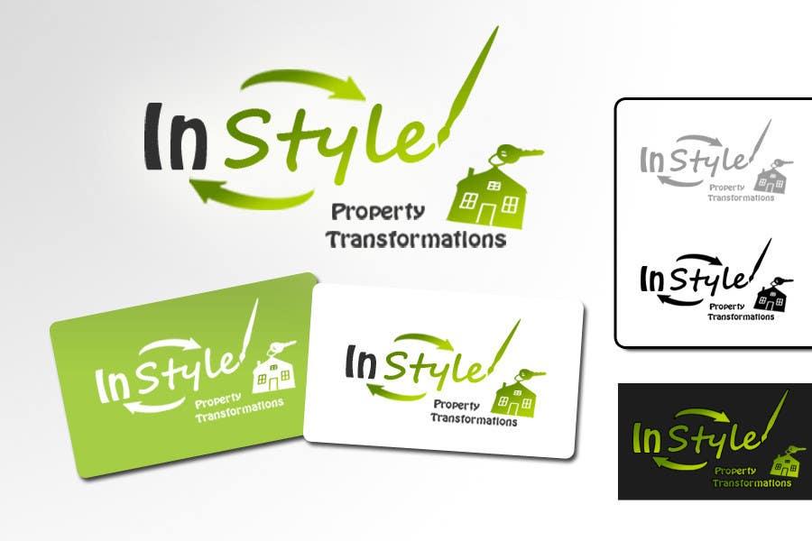 Penyertaan Peraduan #305 untuk Logo Design for InStyle Property Transformations