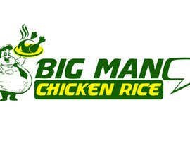 nº 6 pour Design a Logo for BIG MAN CHICKEN RICE par riyutama