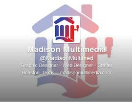 MadisonMultimed tarafından Design a Twitter background for my company için no 15