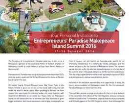 prasetyo76 tarafından Design a Flyer / 1 Page Invitation için no 18
