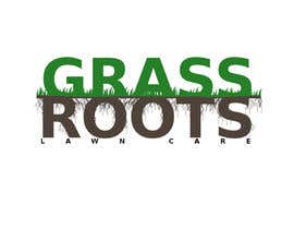 "nº 3 pour Logo for  ""Grass Roots Lawn Care"" par sachyrexen"