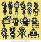 Funny Monster Robot Illustrations Wanted için Graphic Design26 No.lu Yarışma Girdisi