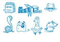 Funny Monster Robot Illustrations Wanted için Graphic Design22 No.lu Yarışma Girdisi