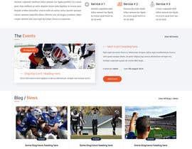 nizagen tarafından Design a Clean and Professional Website Mockup için no 31