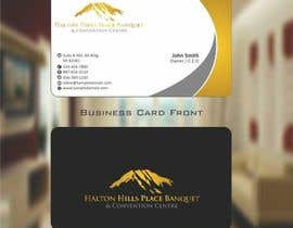nº 13 pour Design a logo and Business Cards for Halton Hill Banquet and Convention Centre par zarnabdurranisl