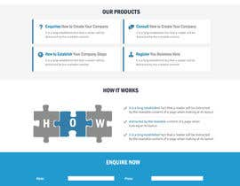 #34 para Landing Page (Visual Design Optimization) por kethketh